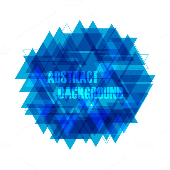 Abstract Triangle Background Generator » Designtube