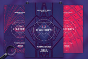 Fear Factory | 3in1 Flyer T-Graphicriver中文最全的素材分享平台