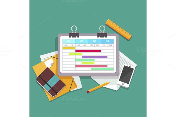 Gantt Chart Planning Process
