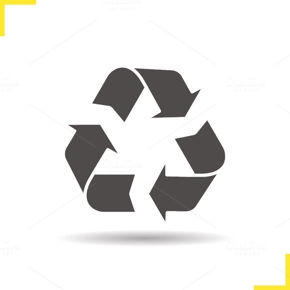 Recycle symbol icon. Vector - Icons