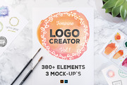 LogoCreator 380+ Elements &-Graphicriver中文最全的素材分享平台