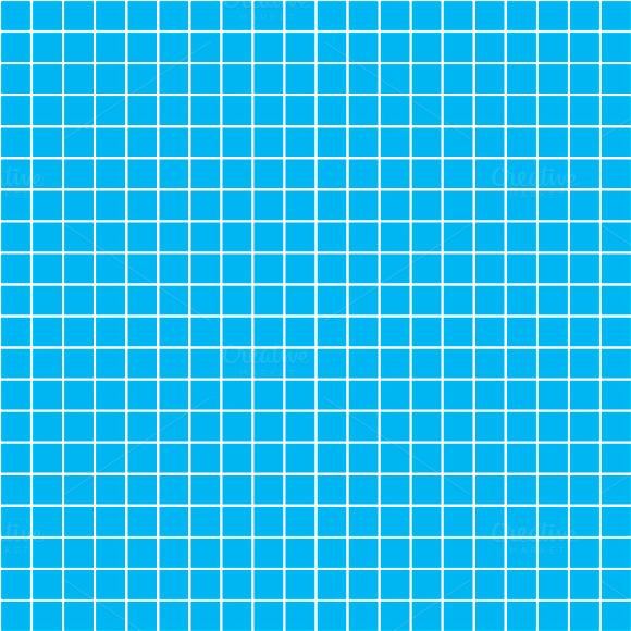 Five Millimeters Square White Grid