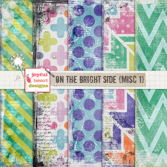 On the Bright Side {misc. 1} - Patterns