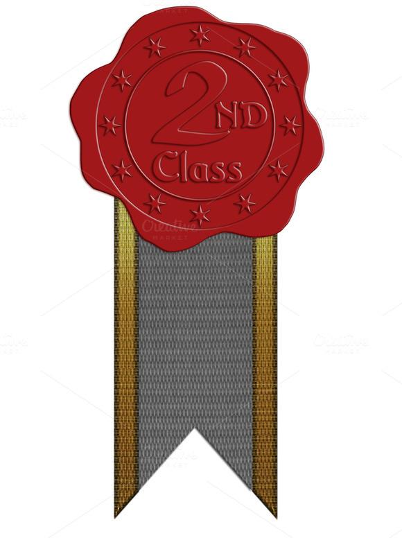 JPG HQ Sec. Class Wax Seal + Ribbon - Objects
