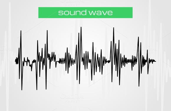 Sound Wave Modern Music Design