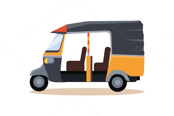 Asian Taxi Icon