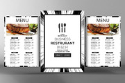 Minimalist Menu + Table Ten-Graphicriver中文最全的素材分享平台