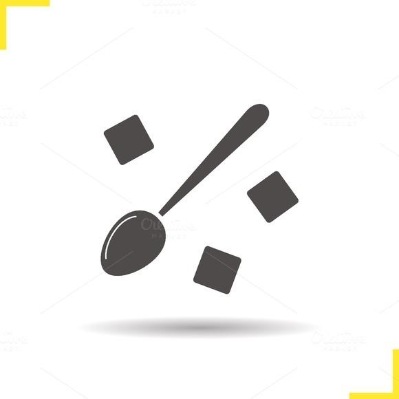 Lump sugar icon. Vector - Icons