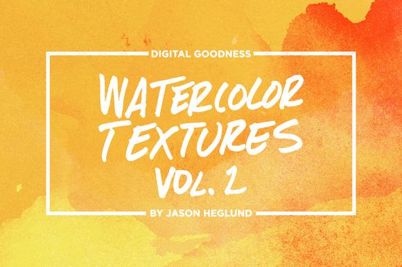 Watercolor Textures Vol. 2 - Textures