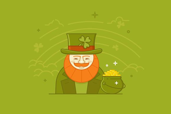 St. Patrick's Day design concept - Illustrations