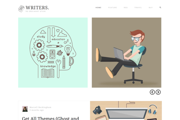 Writers - Blog WordPress Theme - Blog