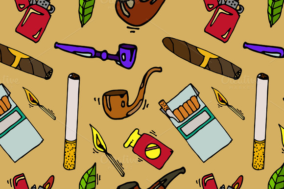 Smoking And Tobacco Pattern