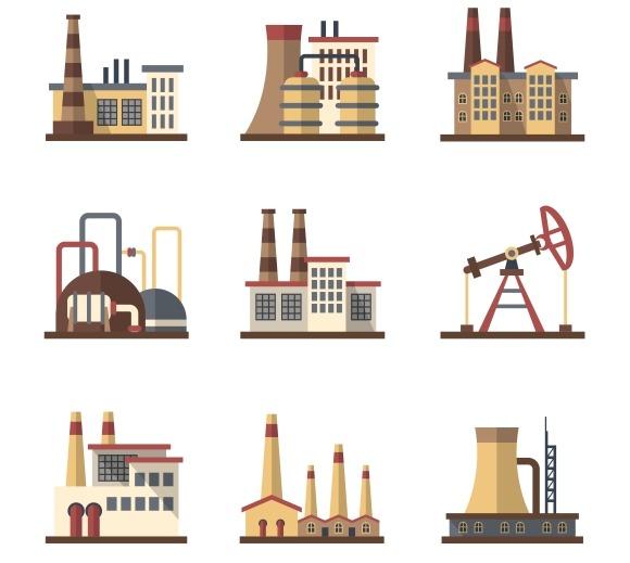 Factory Industrial Buildings