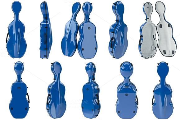 Case Cello Set