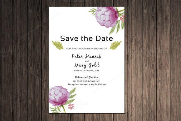 business save the date templates free - free photoshop business save the date template