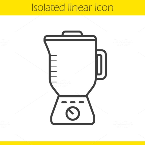 Blender linear icon. Vector - Icons