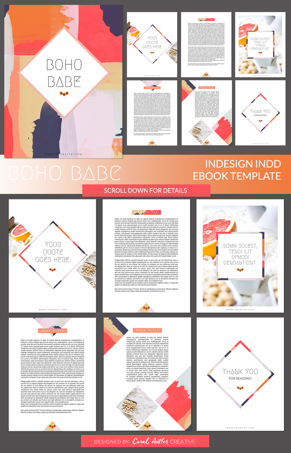 free ebook covers templates - ebook cover template for bundle designtube creative