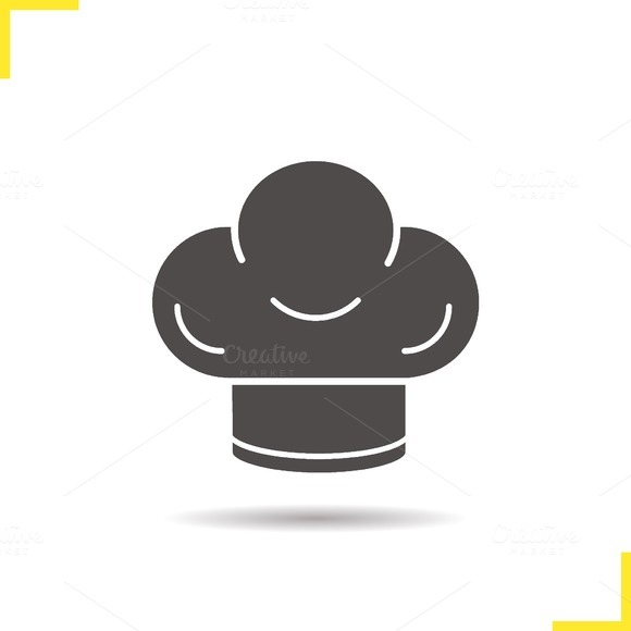 Chef's hat icon. Vector - Icons