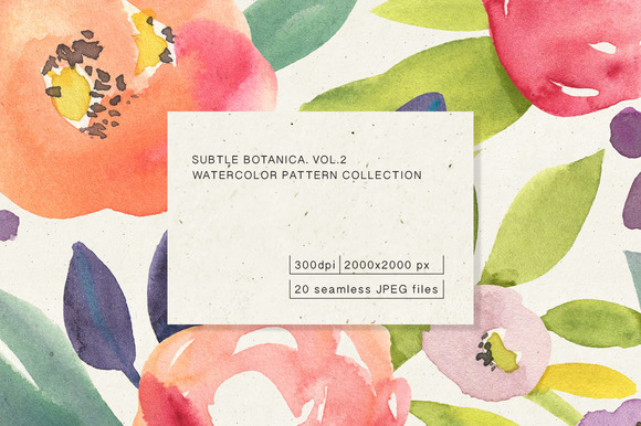 Subtle Botanica. Vol.1 - Patterns