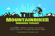 The Mountainbiker -Designer-Graphicriver中文最全的素材分享平台