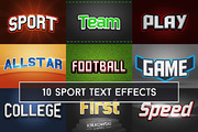 Sport Text Effects Mockup-Graphicriver中文最全的素材分享平台