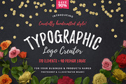 Typographic Logo Creator-Graphicriver中文最全的素材分享平台