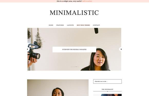 Minimalist WordPress Theme Genesis - Minimal