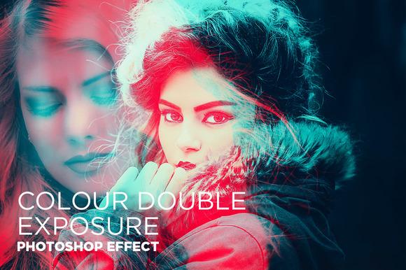 Colour Double Exposure Photoshop FX