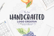 The Handcrafted Logo Creato-Graphicriver中文最全的素材分享平台