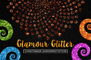 Glamour Glitter Photoshop S-Graphicriver中文最全的素材分享平台