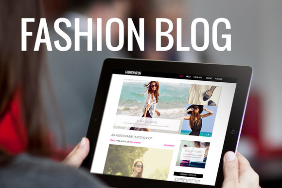 Fashion Blog-WordPress Theme - Blog