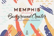 Memphis Background Creator-Graphicriver中文最全的素材分享平台