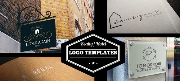 Real Estate Hotel Logos