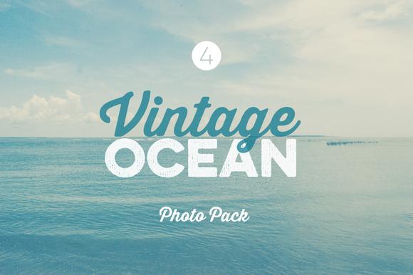 Vintage Ocean free photo pack