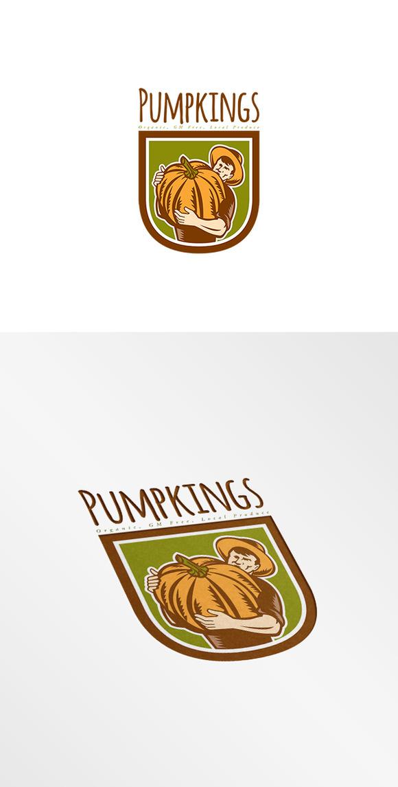 Pumpkings Organic Local Produce Logo