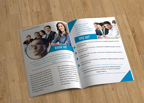 Brochure template business