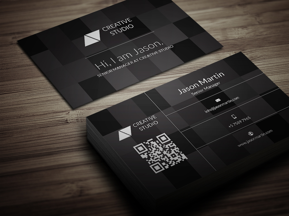 Creative Tiles Business Card Business Card Templates on