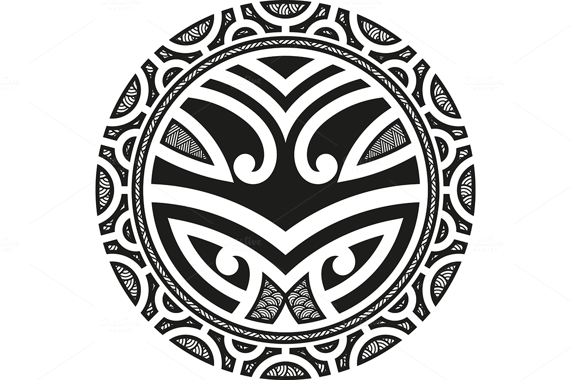 Maori Tattoo Patterns 5x Patterns On Creative Market