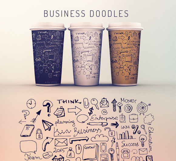 Business Doodles - Illustrations - 1