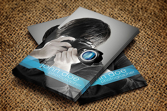 Photographer Business Card ~ Business Card Templates on ...