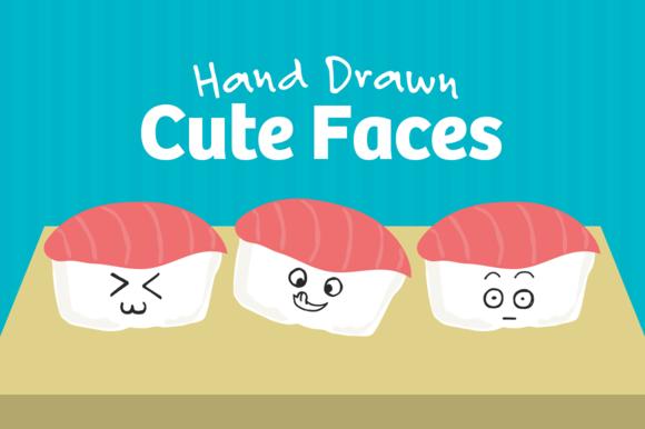 101 Hand Drawn Cute Faces