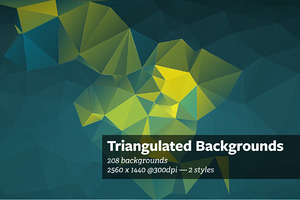Triangulated - Abstract Backgrounds