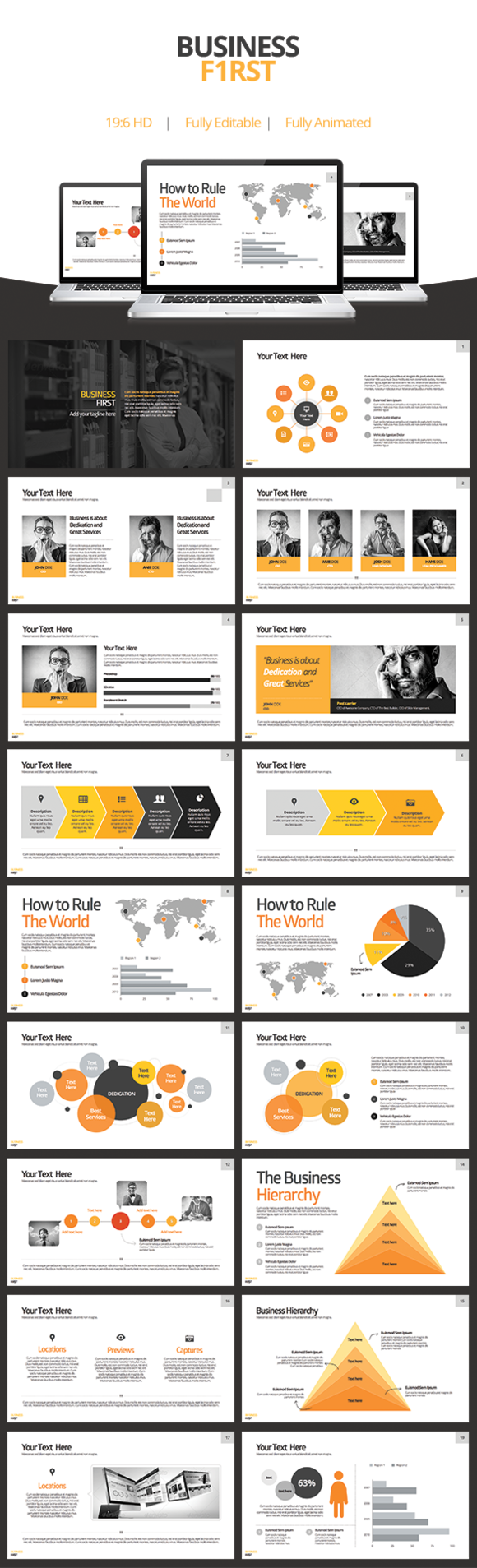 Business First - Keynote Template - Presentations - 1