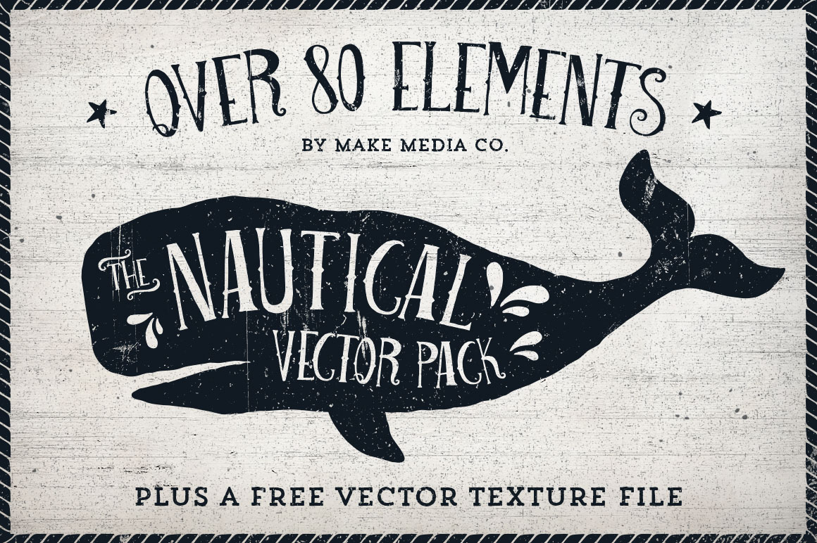 The Nautical Vector Pack ~ Illustrations on Creative Market