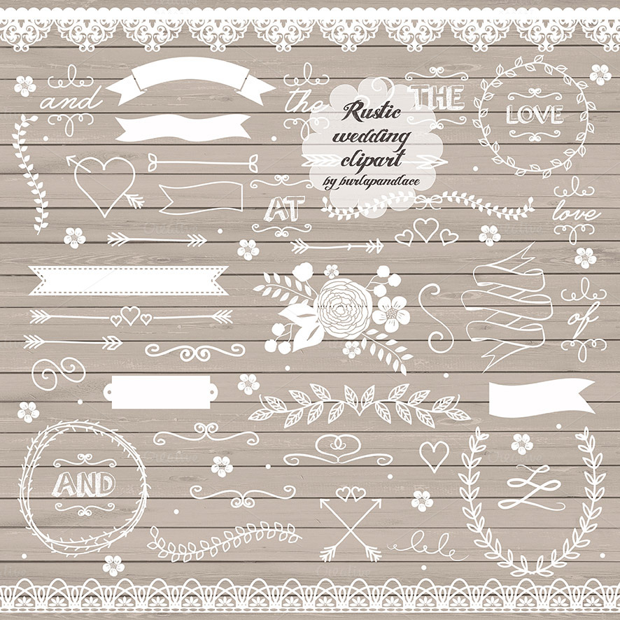 vector rustic wedding clipart ii   illustrations on rustic wedding clipart png rustic wedding clipart free images