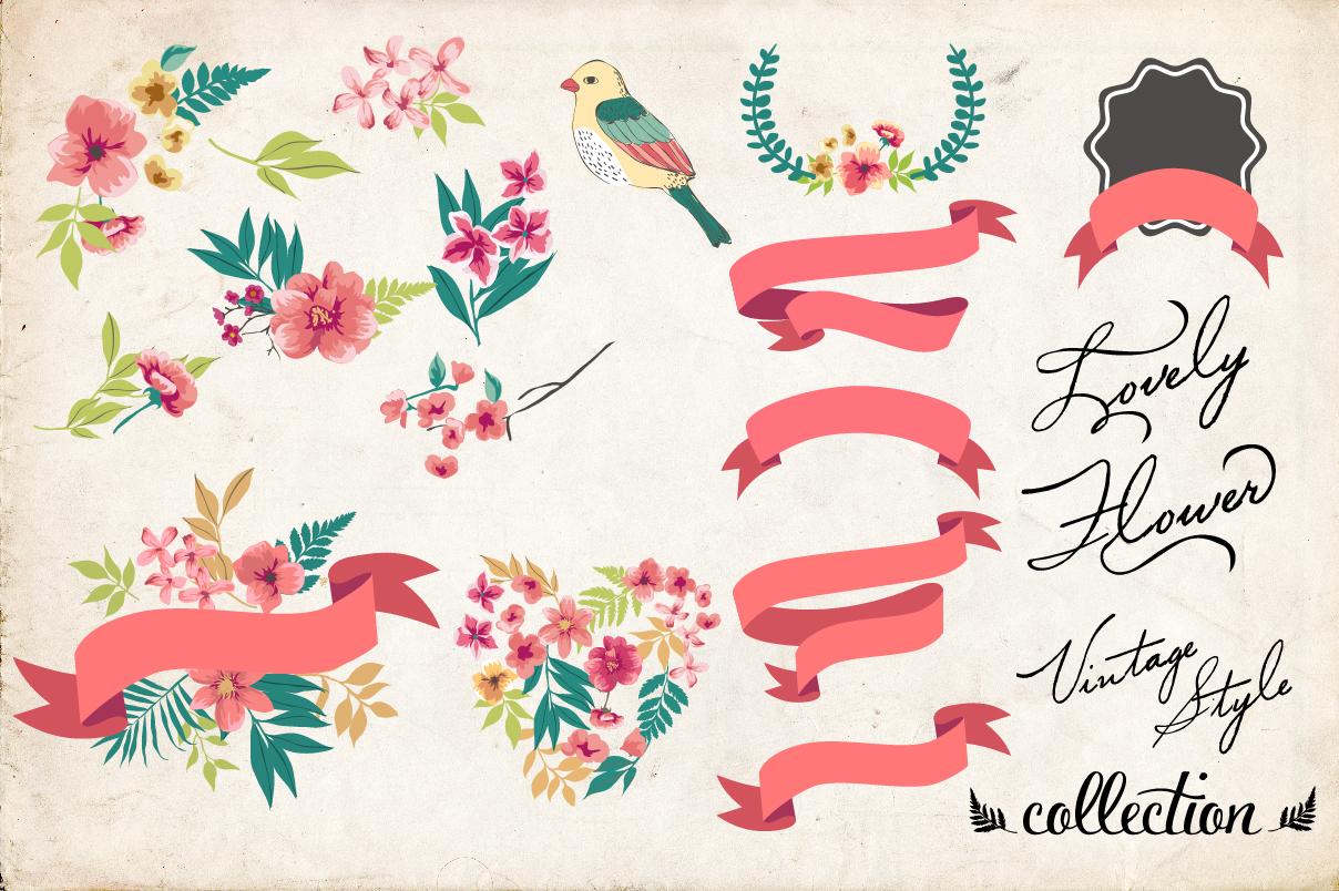 14 vintage greeting card