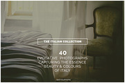 THE ITALIAN COLLECTION isee-Graphicriver中文最全的素材分享平台