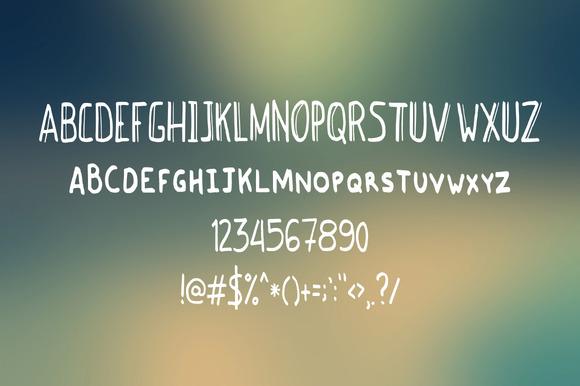 免费字体 Vindence丨反斗限免