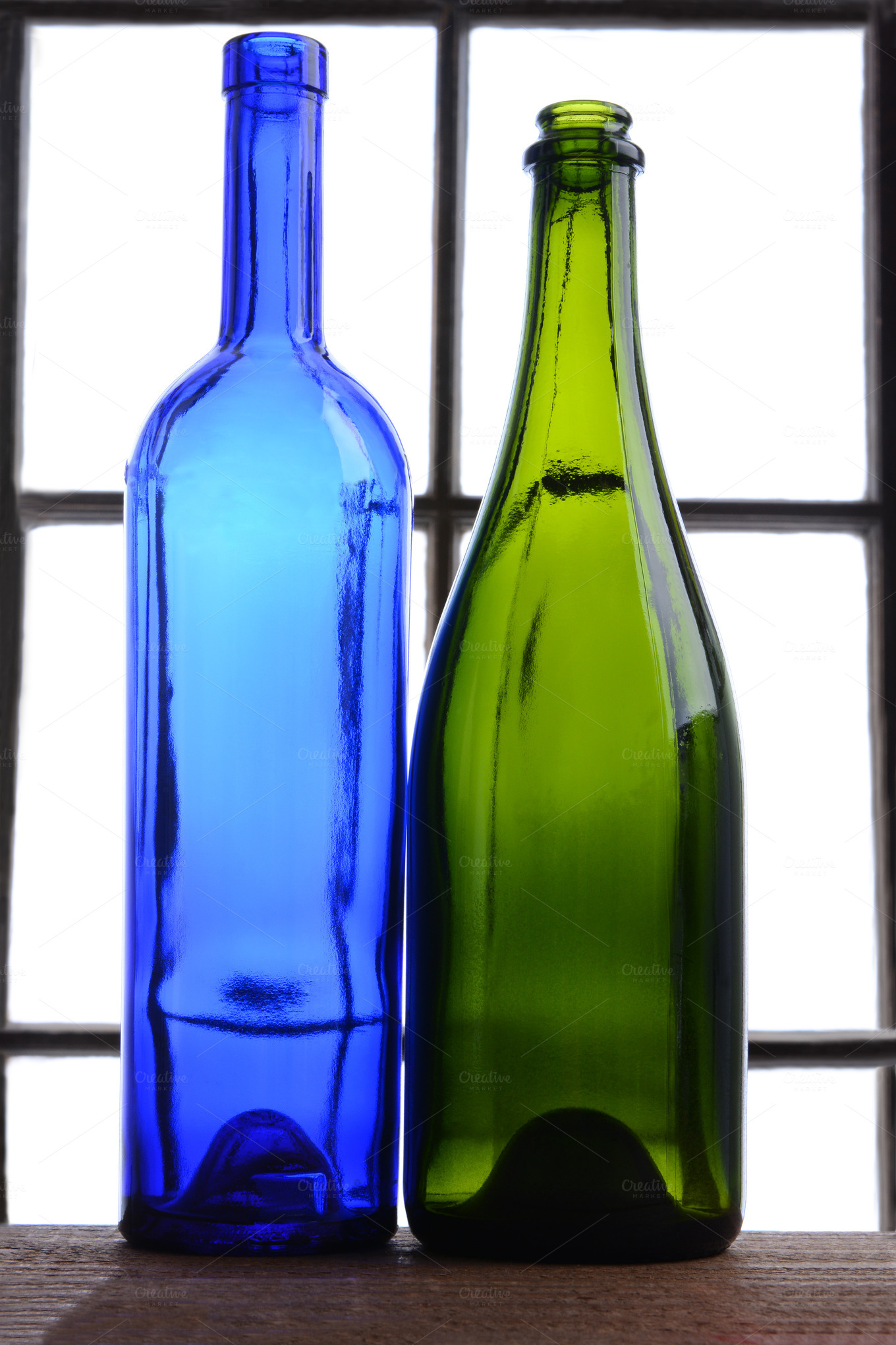 Empty wine bottle still life food drink photos on for Creative ideas for empty wine bottles