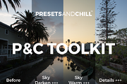 PRESETS AND CHILL TOOLKIT --Graphicriver中文最全的素材分享平台